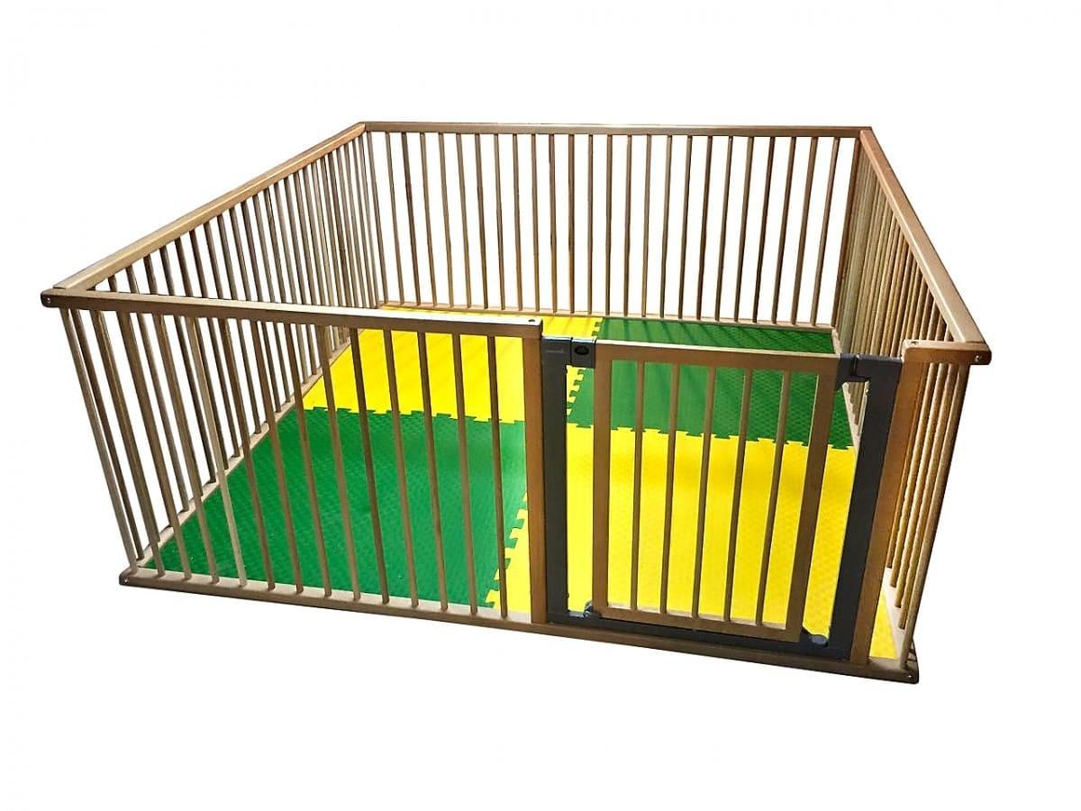 Детское ограждение Kindwood 2х2 метра с воротами.