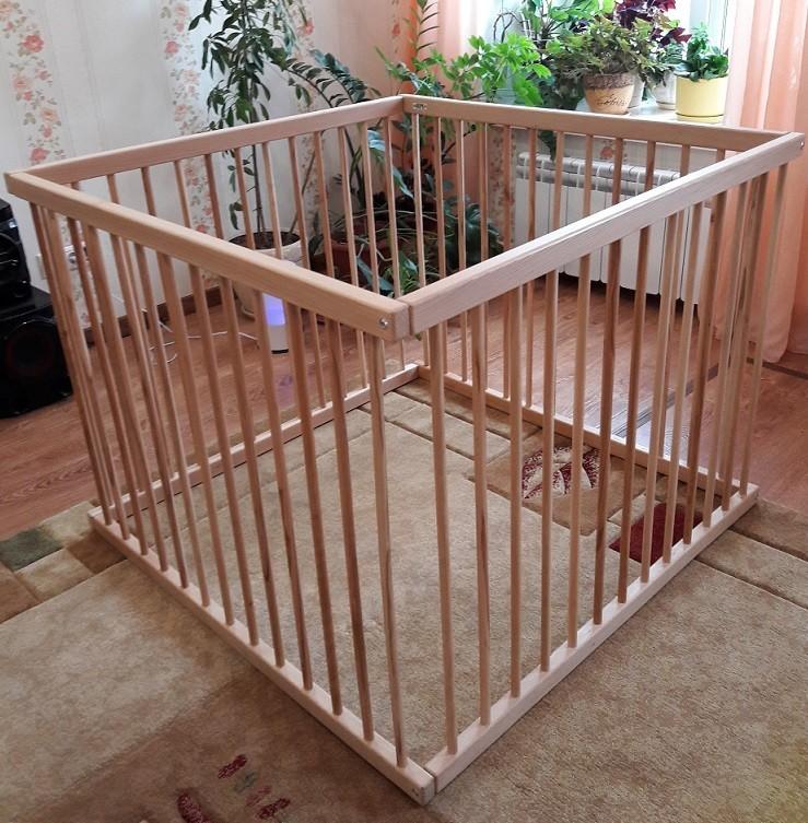 Манеж ограждение Kindwood - 110 х 110 см