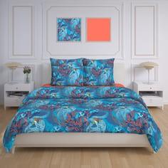 """Комплект постельного белья евро """"Коралловый риф"""""""